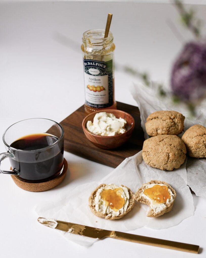nyttiga glutenfria scones