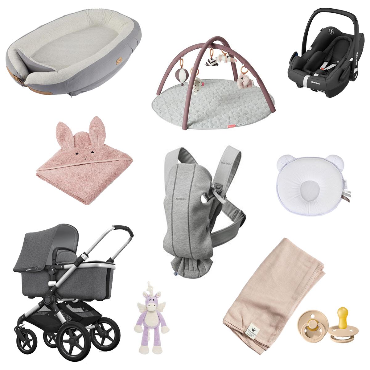 saker att köpa till bebis