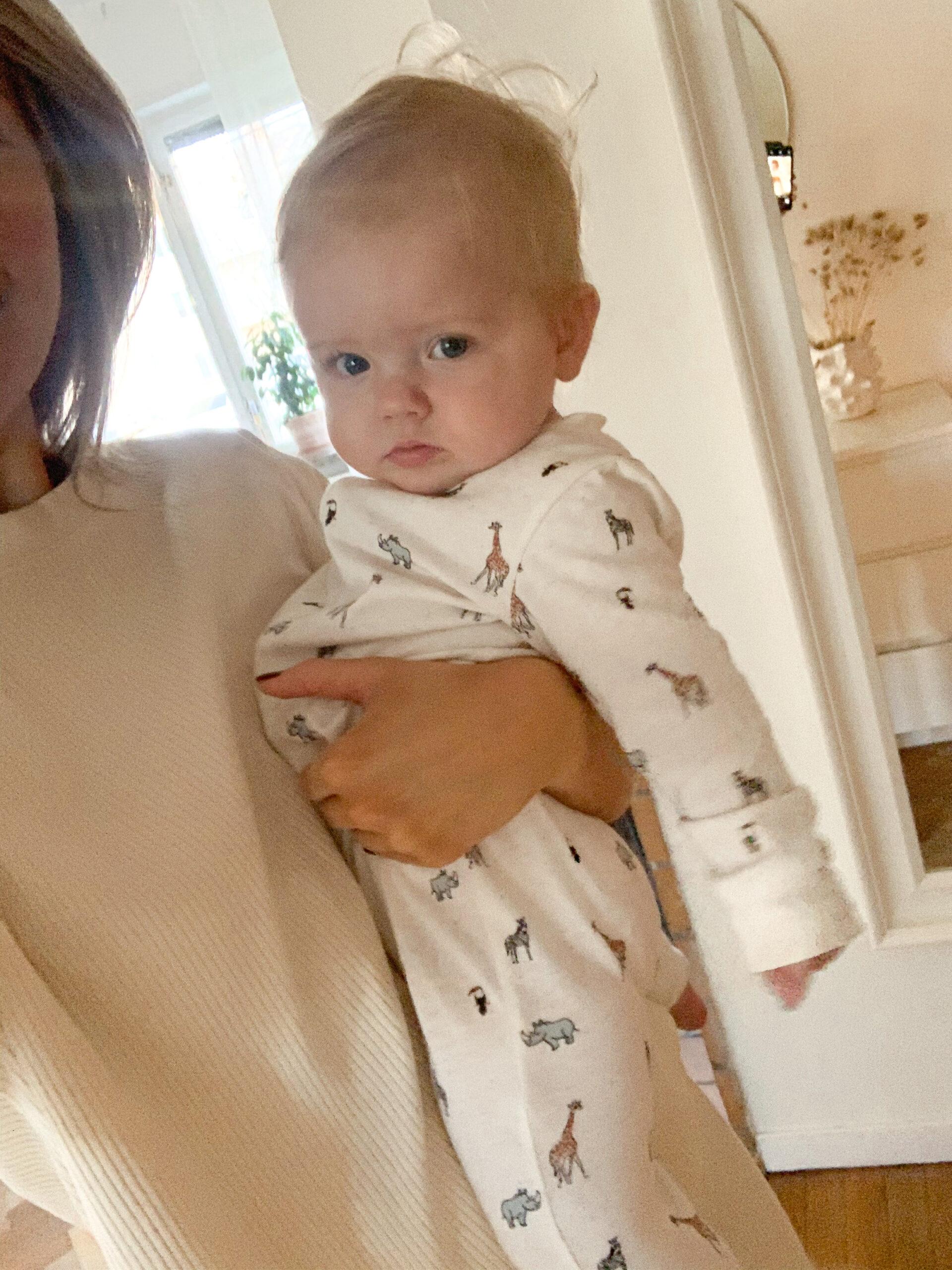 7 månaders bebis